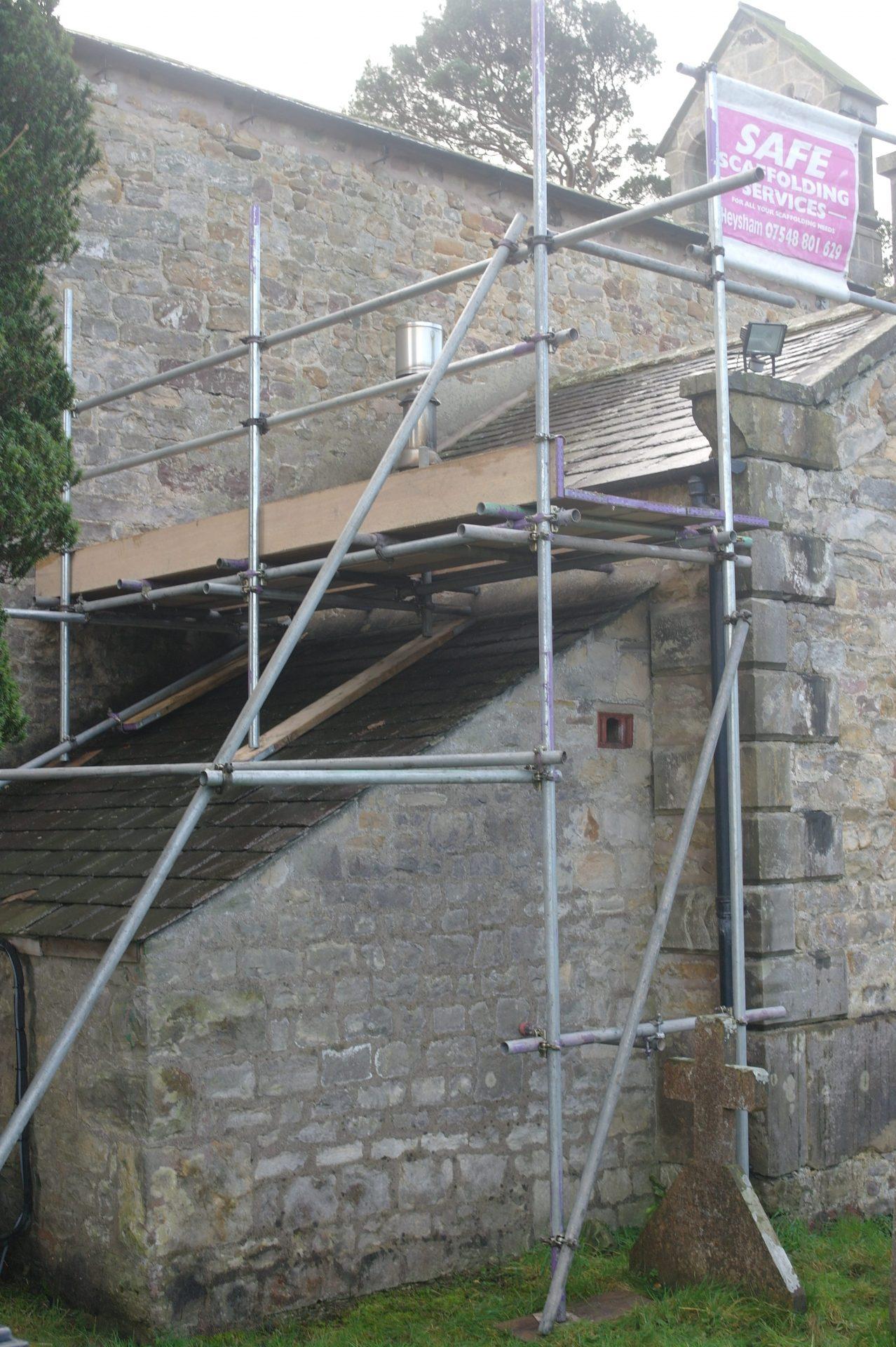 Church re roof Galgate