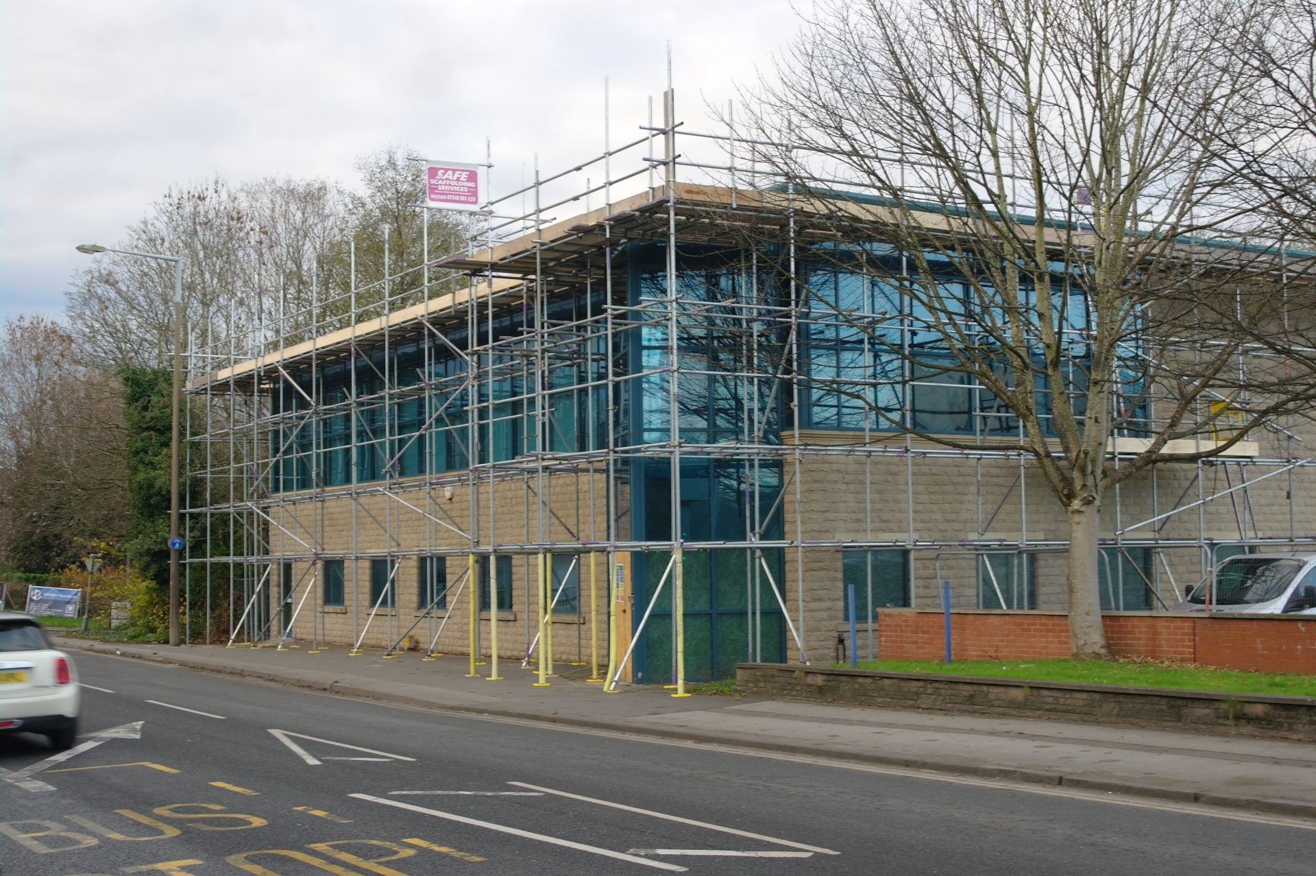Commercial independant tied scaffold