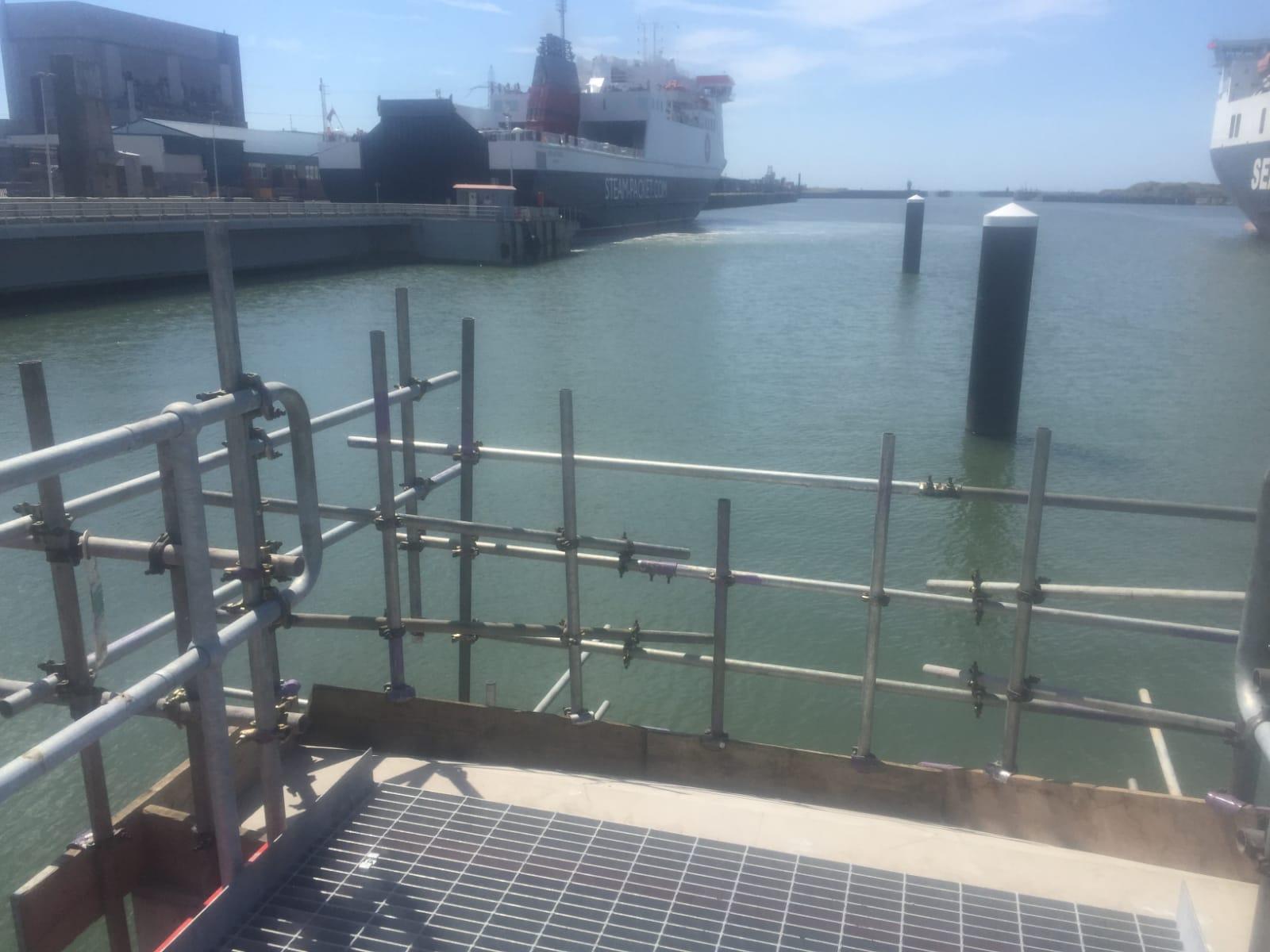 Heysham Port Edge Protection