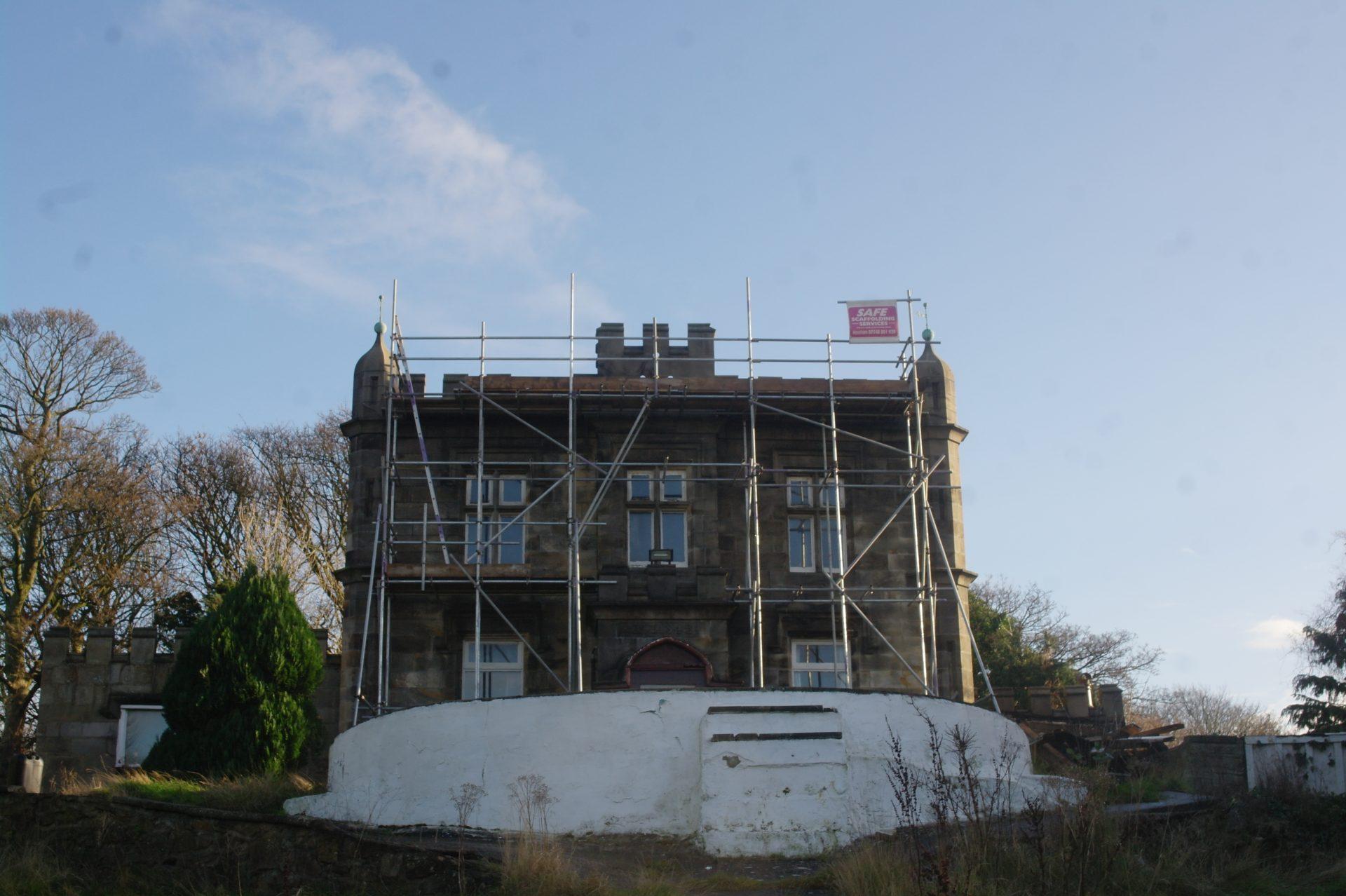 Independant scaffold