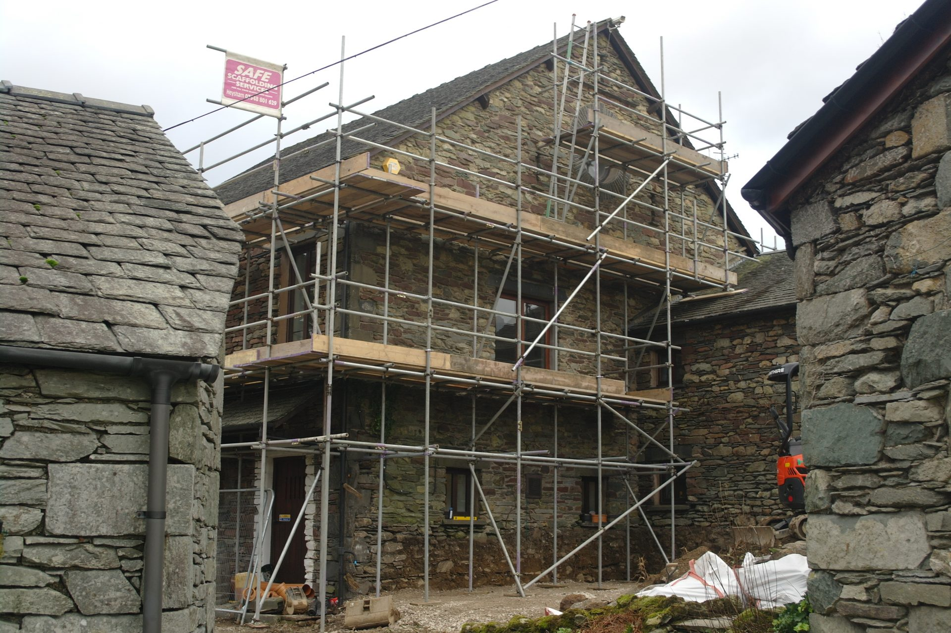 Independant scaffold (2)