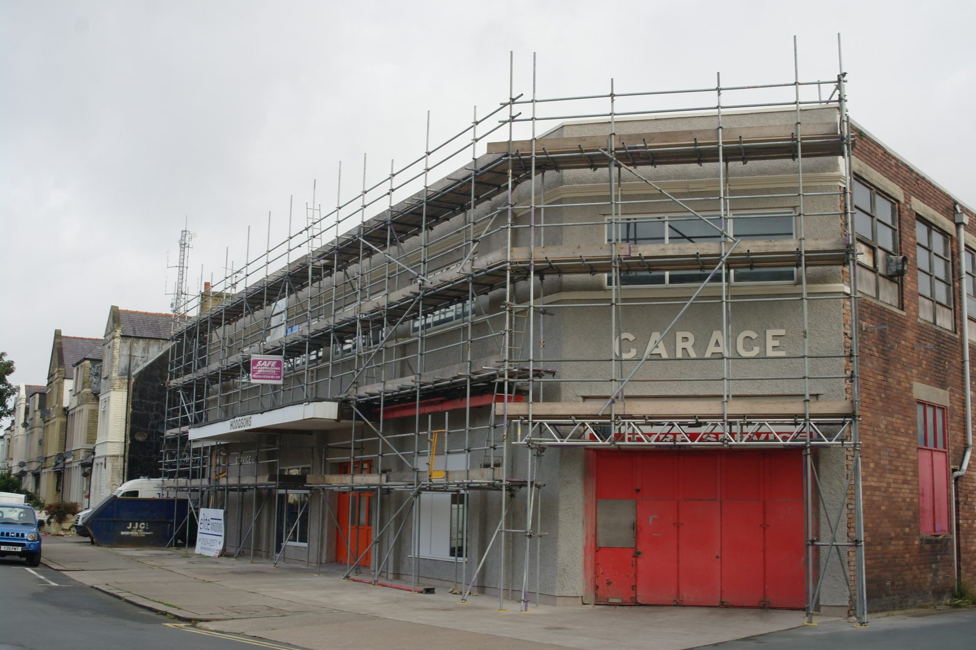 Independant tied scaffold